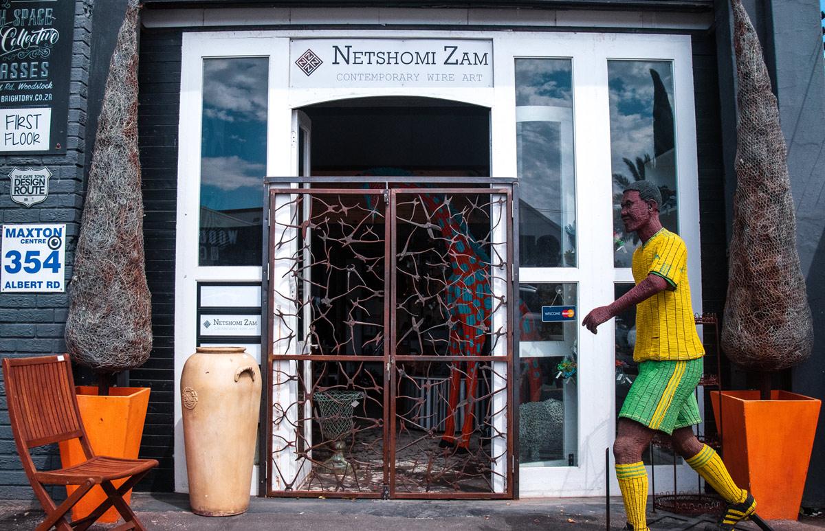 Netshomi Zam African Beadwork - Gallery Image Shop Front