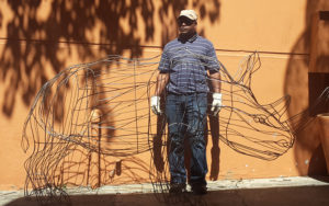 Netshomi Zam African Beadwork - Gallery Image African Wire Art Animal Work