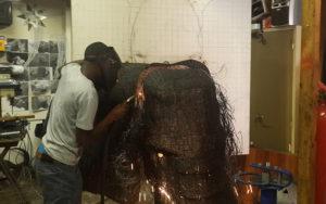 Netshomi Zam African Beadwork - Gallery Image African Beaded Art Animal Work