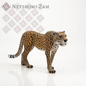 Netshomi Zam African Beadwork - Beaded Cheetah Animal